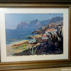 Arte: FIDEL TRIAS PAGES. (SABADELL 1918 -1971). CALA SANT VICENT. MALLORCA.. Lote 137577341
