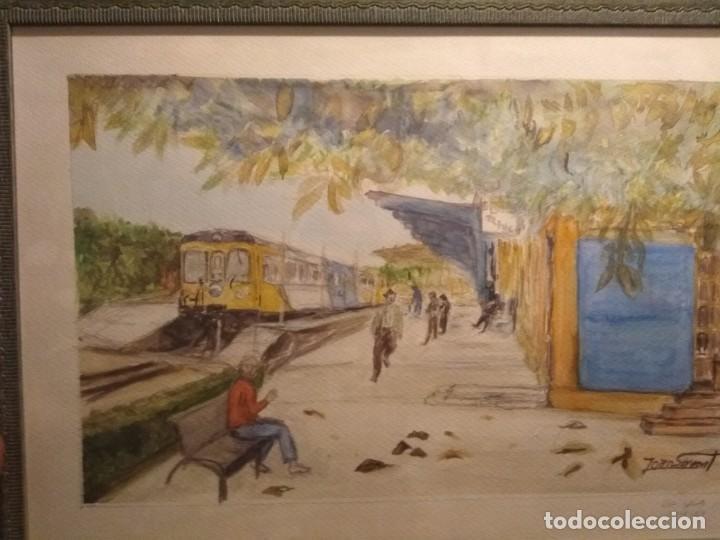 BONITA ACUARELA FIRMADA (Arte - Acuarelas - Modernas siglo XIX)