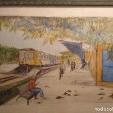 Arte: BONITA ACUARELA FIRMADA . Lote 137688042