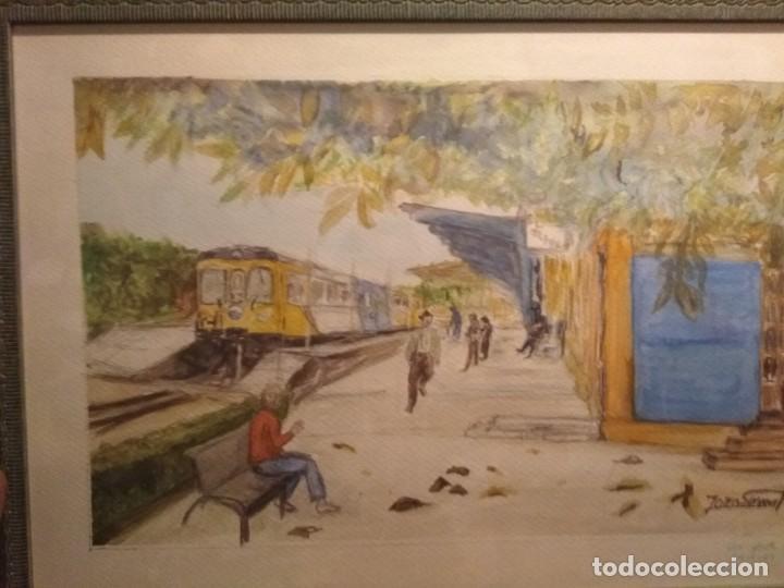Arte: Bonita acuarela firmada - Foto 2 - 137688042
