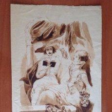 Arte: VICENTE GARCÍA DE PAREDES. LA LECTURA.. Lote 137879826