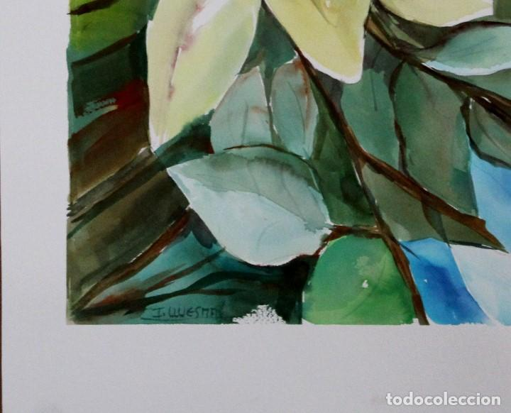 Arte: Lilirium blanco obra de Luesma - Foto 2 - 138533966