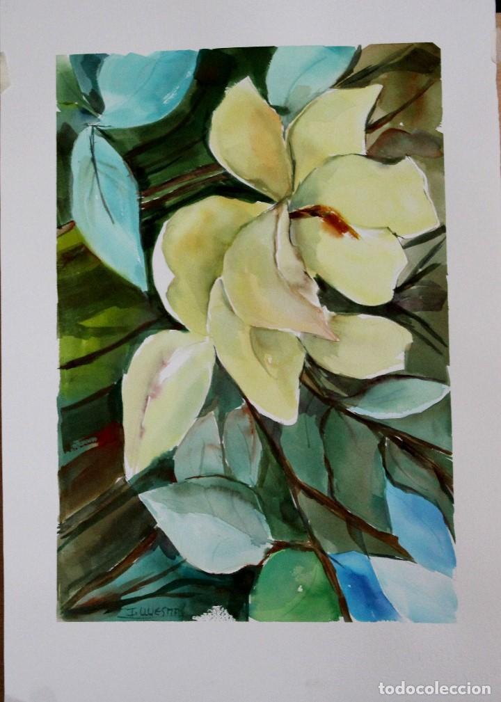 Arte: Lilirium blanco obra de Luesma - Foto 3 - 138533966