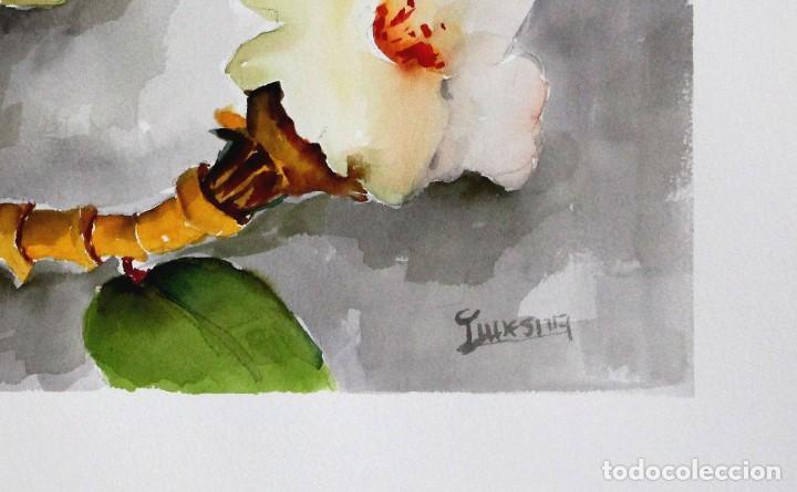 Arte: Flores blancas obra de Luesma - Foto 2 - 138534130