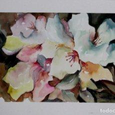 Arte: LILIRIUM EN COLORES LILAS DE LUESMA. Lote 138534354