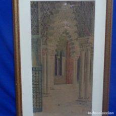 Arte: ACUARELA DE FRANCISCO CANDELA.SEVILLA.GRAN CALIDAD.. Lote 138865898