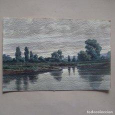 Arte: ACUARELA S.XIX DEL PINTOR A. MATARREDONA.1896.. Lote 138924458