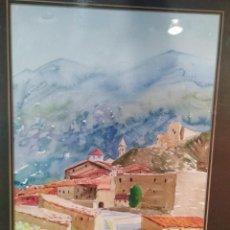 Arte: LINARES DE MORA TERUEL.PINTOR A IDENTIFICAR. Lote 143335072