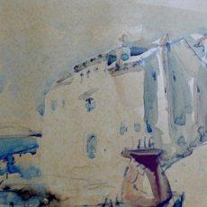 Arte: ACUARELA FIRMADA EDWIN HUBERT- MALLORCA. Lote 139329782