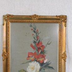 Arte: ACUARELA ORIGINAL FIRMADA J.SALCEDO 1890. Lote 139380834