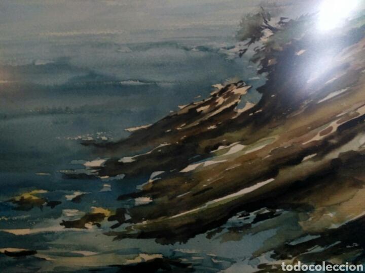 Arte: Acuarela, marina de Charo Gonzalez, Cantabria, Santander. - Foto 3 - 140243781