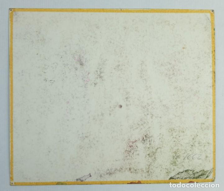 Arte: Acuarela y gouache sobre papel Figuras firma ilegible tercer tercio siglo XX - Foto 9 - 140493434