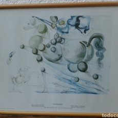 Arte: POSTER - LAMINA - FIGURA ECUESTRE MOLECULAR - SALVADOR DALI - EDICIONES DASA S.A. COLECCION PRIVADA. Lote 140533501