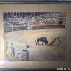 Arte: CUADRO PLAZA DE TOROS. Lote 140646882