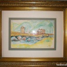 Arte: SAO PAULO - ACUARELA DE JOAQUIN PEINADO (1898 - 1975). Lote 140683074