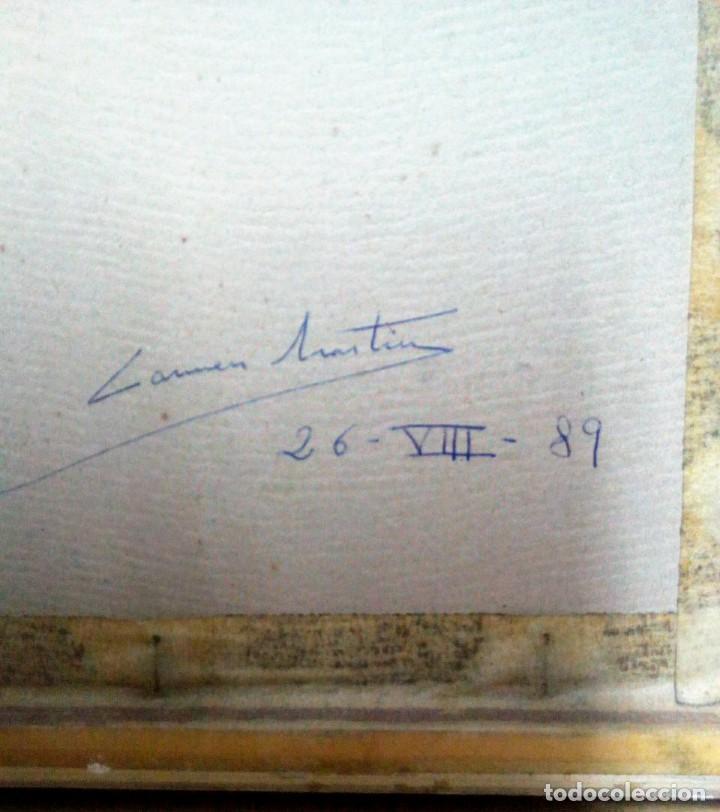Arte: Carmen Martín , Plaza de toros Monumental de Barcelona 1989 - Foto 4 - 140849678