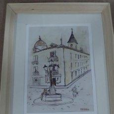 Arte: ESPLANDIU, ACUARELA SOBRE PAPEL FIRMADA. Lote 141674086
