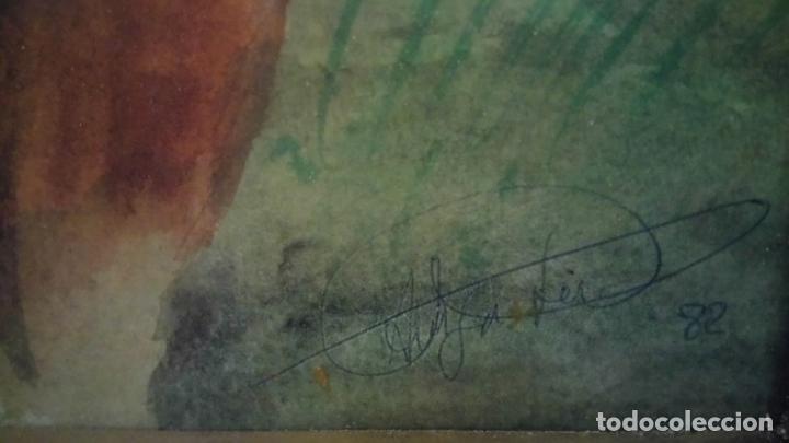 Arte: Pintura en acuarela de batalla, guerra medieval cuadro grande de sala de estar u comedor - Foto 3 - 142067546
