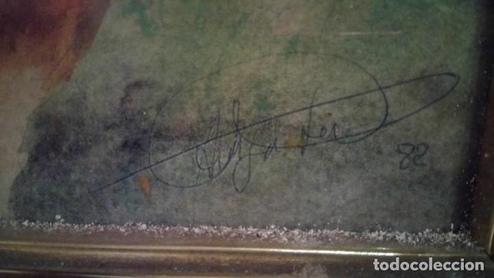Arte: Pintura en acuarela de batalla, guerra medieval cuadro grande de sala de estar u comedor - Foto 12 - 142067546