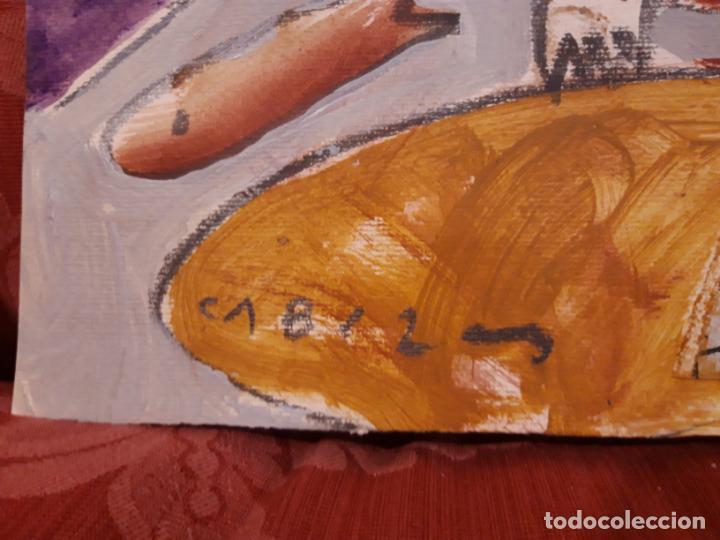 Arte: Jorge Cabezas Tome Coruña original tecnica mixta - Foto 3 - 97236379
