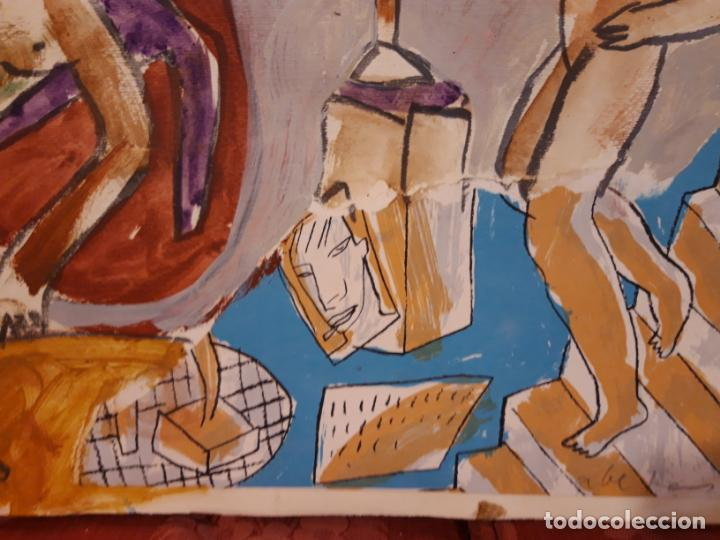 Arte: Jorge Cabezas Tome Coruña original tecnica mixta - Foto 4 - 97236379