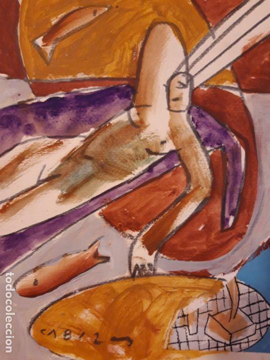 Arte: Jorge Cabezas Tome Coruña original tecnica mixta - Foto 6 - 97236379