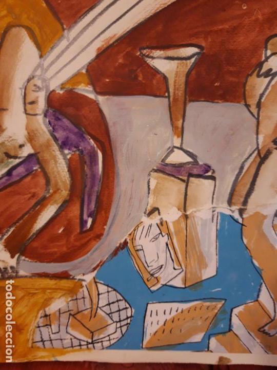 Arte: Jorge Cabezas Tome Coruña original tecnica mixta - Foto 7 - 97236379