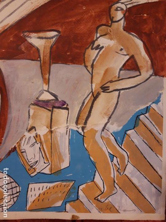 Arte: Jorge Cabezas Tome Coruña original tecnica mixta - Foto 8 - 97236379