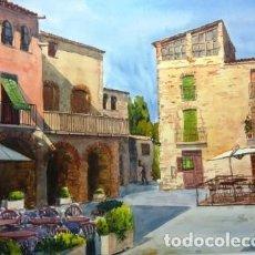 Arte: PAISAJES DE L'EMPORDA(GIRONA),VARIOS. Lote 142390226
