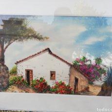 Arte: ACUARELA AÑO 1964 .EL PINTOR TINERFEÑO PASTOR CABRERA FALLECIDO 50 POR 35.. CM.. CON MARCÓ 71 POR 55. Lote 142642222