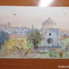 Arte: JOSE ALVAREZ Y FERNANDEZ. VISTA DE TETUAN.. Lote 142796178