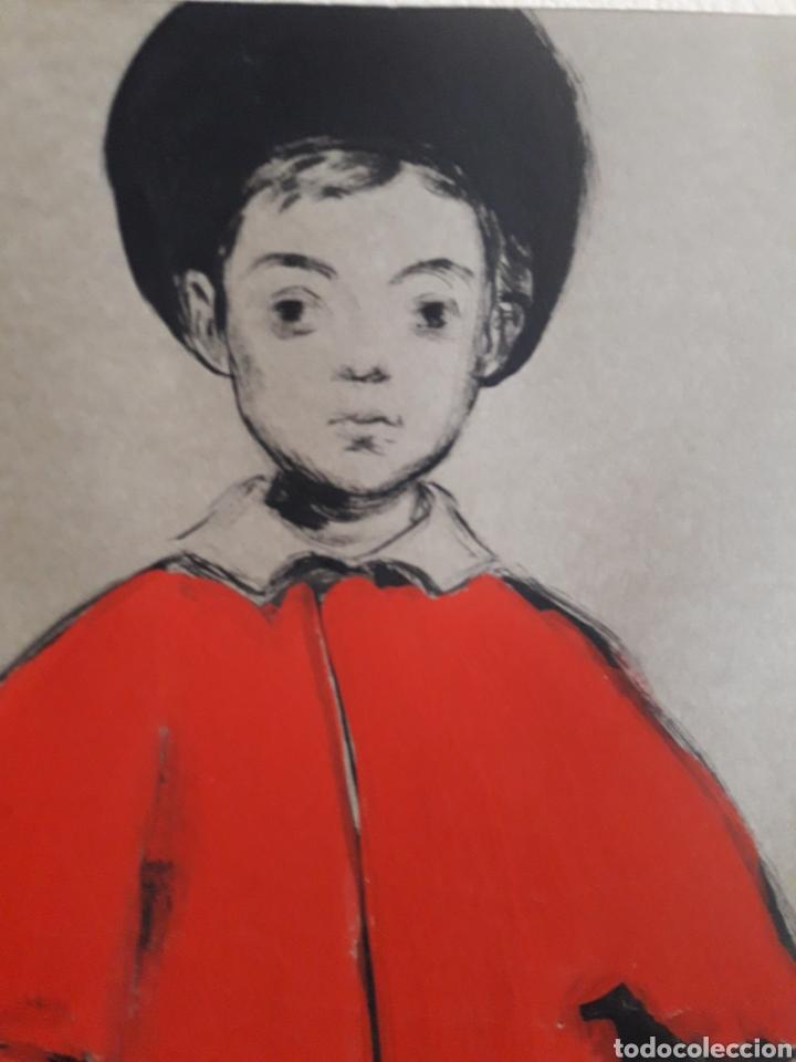 Arte: Pintura sobre papel. Firmado ilegible. - Foto 2 - 142854850