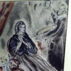 Arte: FLORIT RODERO JOSE LUIS (,ACUARELA ). Lote 143965774