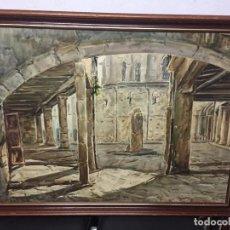 Art: ACUARELA DE JOAN PELFORT DE IGUALADA. SANTA COLOMA DE QUERALT. Lote 145918374