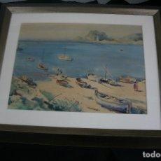 Arte: JAUME ROCA DELPECH (SALT 1911-GIRONA 1968) EXCELENTE MARINA, FIRMADA.. Lote 146020362