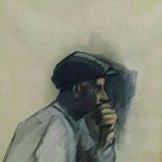 Arte: LÁZARO FERRER, JOSEP L. (BARCELONA 1945) ( ACUARELA ) SITGES 85,. Lote 146291026
