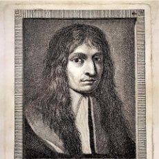 Arte: RETRATO DE STEFFANO DELLA BELLA. GRABADO. GRABADO POR D.A. ITALIA (?). 1788. Lote 146397274