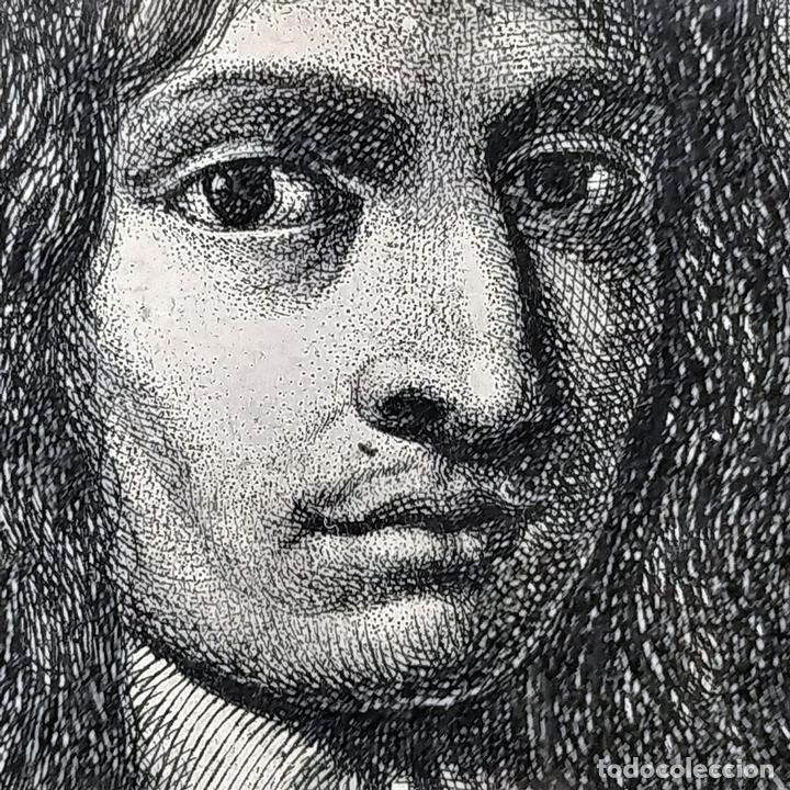 Arte: RETRATO DE STEFFANO DELLA BELLA. GRABADO. GRABADO POR D.A. ITALIA (?). 1788 - Foto 5 - 146397274