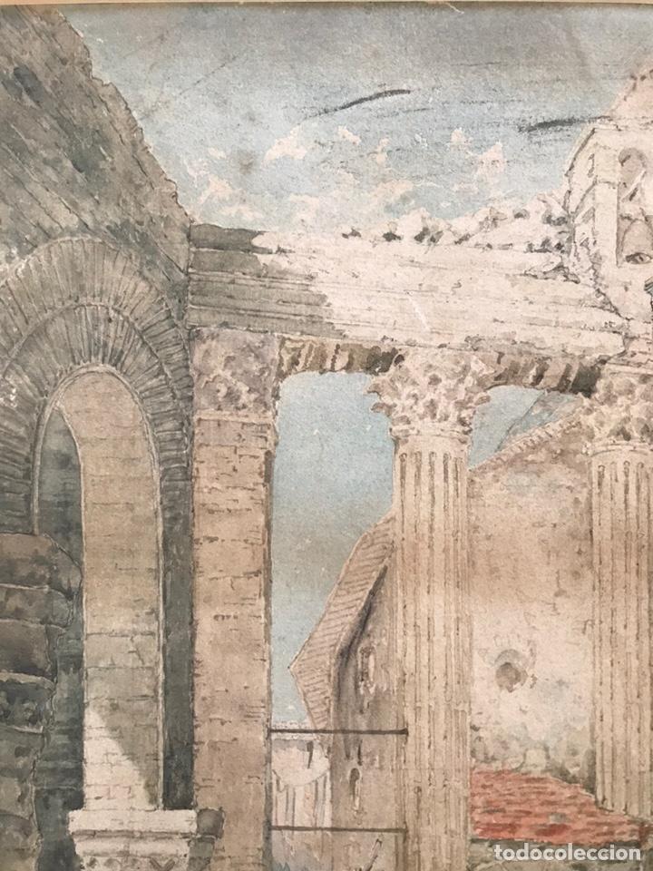 Arte: Acuarela antigua firmada - Foto 10 - 146652769