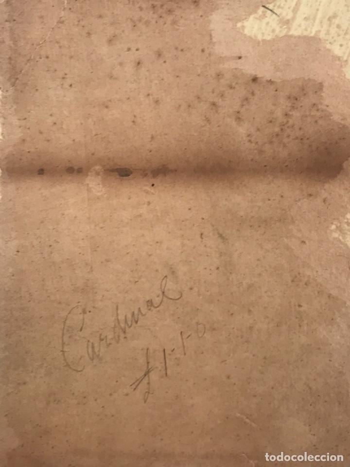 Arte: Acuarela antigua firmada - Foto 13 - 146652769