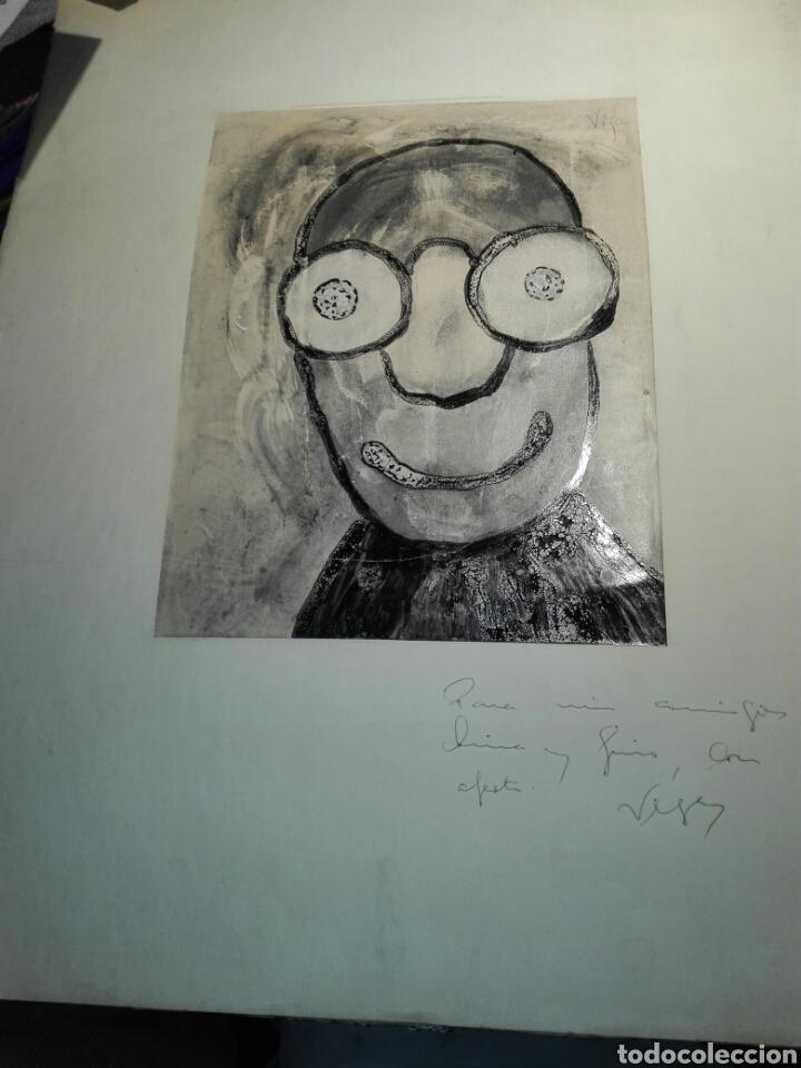 ACUARELA PINTOR VEGA (Arte - Acuarelas - Contemporáneas siglo XX)