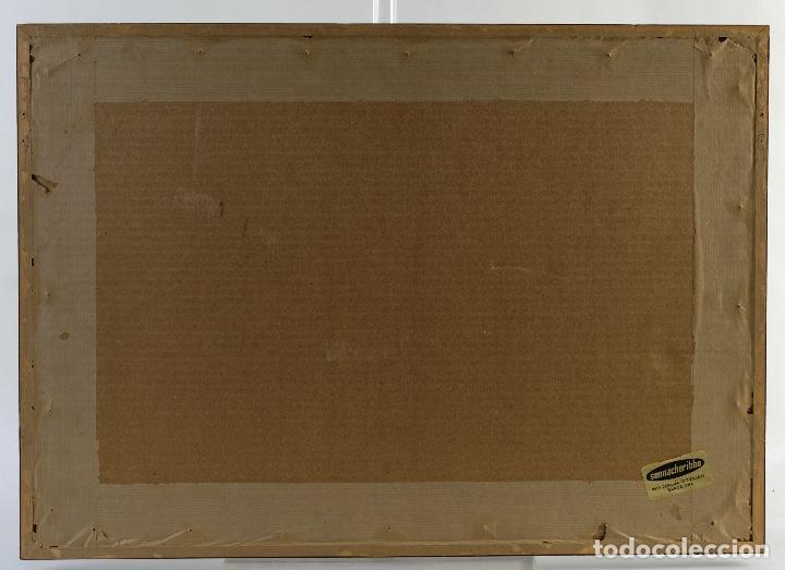 Arte: Pedro Soler Valero Acuarela y tinta sobre papel Escena mercado firmado y fechado 1973 - Foto 8 - 146928926
