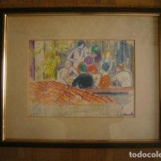Arte: IGNASI MUNDÓ MARCET (1918-2012): ORIGINAL FIRMADO.. Lote 147177334