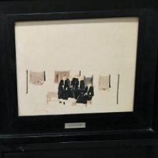 Arte: PAREJA DE CUADROS DE JOSÉ VEGA OSSORIO (MÉRIDA, BADAJOZ 1945-2015). Lote 147406678