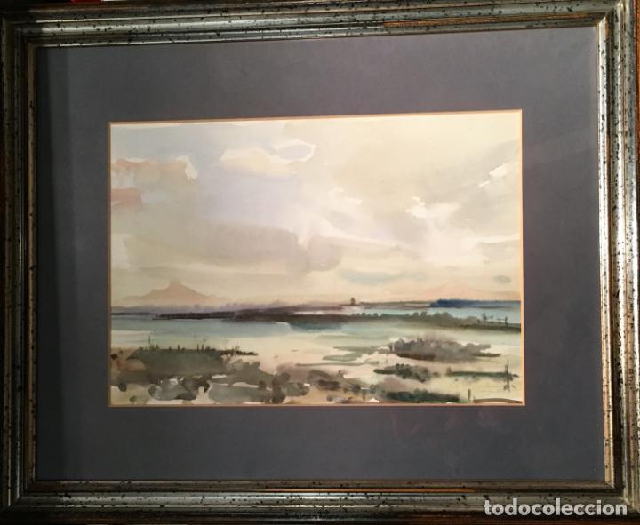 Arte: Paisaje por Julio Quesada (Madrid 1918-209) - Foto 11 - 147416426