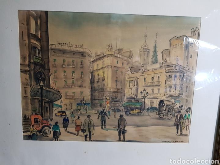 Arte: Via Layetana por Antonio Giménez Toledo De Velez - Foto 2 - 148098754