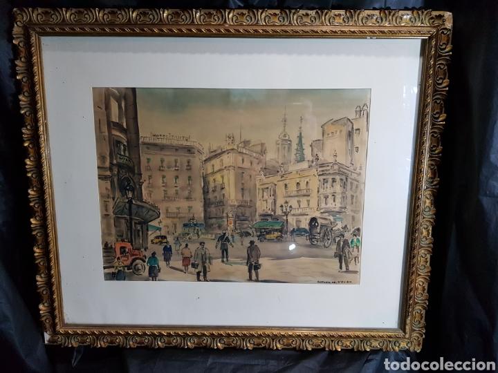 Arte: Via Layetana por Antonio Giménez Toledo De Velez - Foto 3 - 148098754