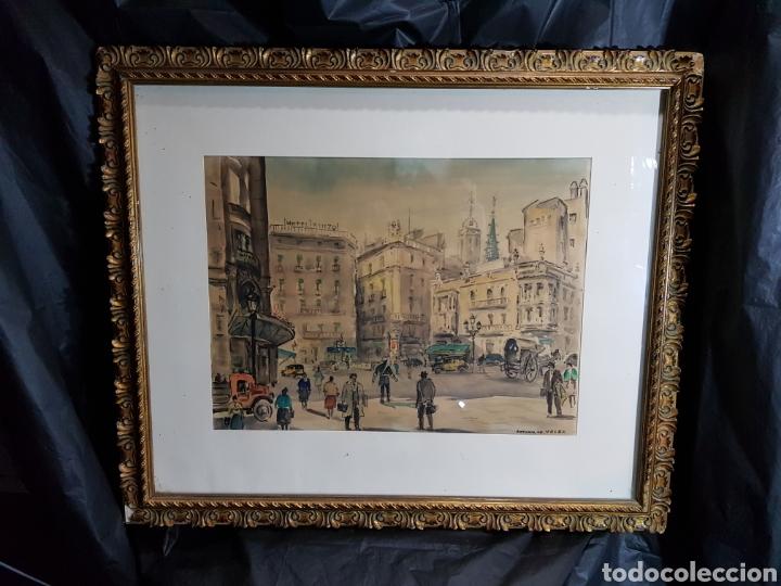 Arte: Via Layetana por Antonio Giménez Toledo De Velez - Foto 4 - 148098754
