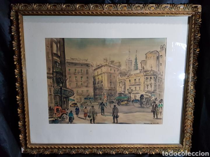 Arte: Via Layetana por Antonio Giménez Toledo De Velez - Foto 5 - 148098754