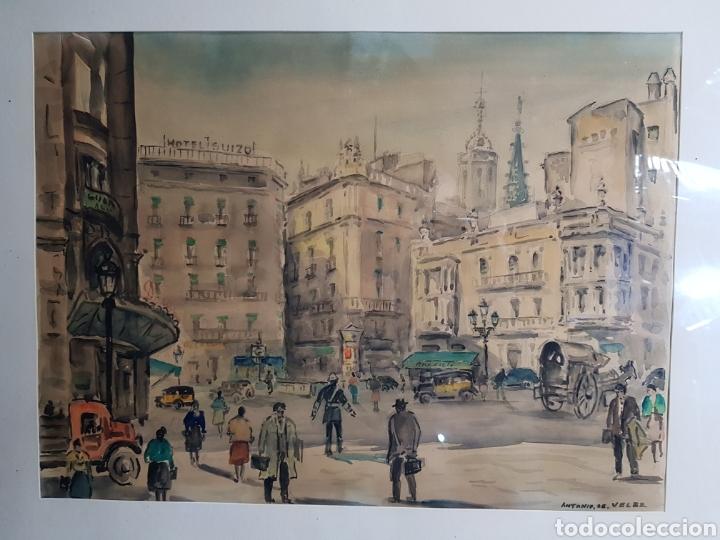 Arte: Via Layetana por Antonio Giménez Toledo De Velez - Foto 6 - 148098754